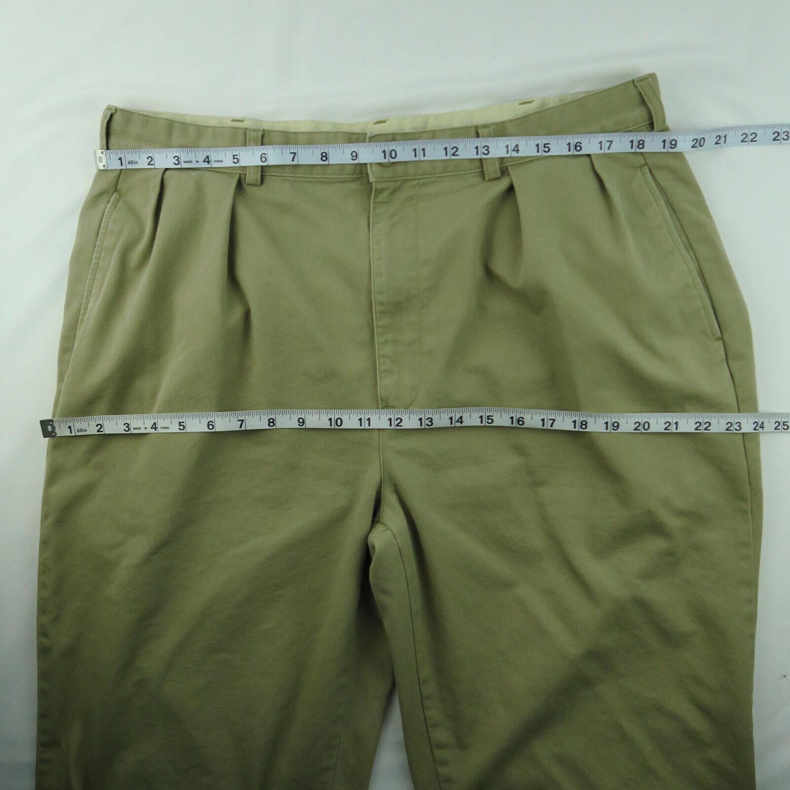 VTG Polo Chino Ralph Lauren Mens Khaki Tan Pants … - image 8
