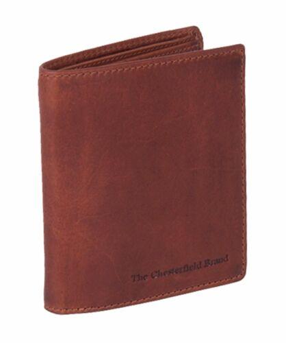 The Chesterfield Brand Carl Billfold Geldbörse Cognac Braun Neu