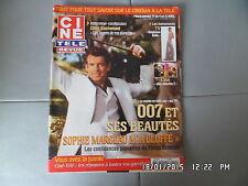 CINE REVUE N°14 7/4/2005 P.BROSNAN S.MARCEAU D.RICHARDS T.HATCHER BOURVIL    H35