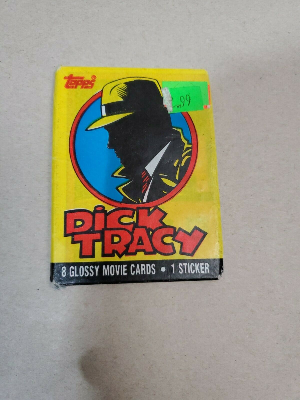 Vintage Dick Tracy wrapping paper gift wrap packge of 2 sheets Contempo Beach Co