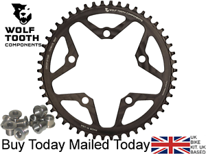 Wolf Tooth Narrow Wide  Drop-Stop Chainring All Sizes 110BCD 5 Arm 10 11 Speed  fashion mall