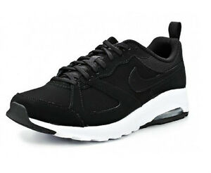ahhdx Nike Air Max Muse Mens Leather Suede Trainers Black White Sizes 6