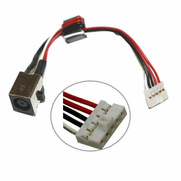 New DC in/Power Jack Cable Harness/Plug in Charging Port Socket/Connector Wire for Dell Inspiron 15R 5520 7520 0WX67P WX67P
