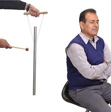 """1 Pipe 528 Hz 21"""" for Healing - louder than Tuning fork with Mallet & Hand Stand"""