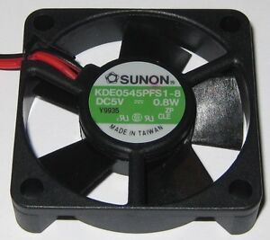 Sunon-45-mm-High-Speed-Cooling-KDE-Fan-5-V-11-CFM-6000-RPM-KDE0545PFS1