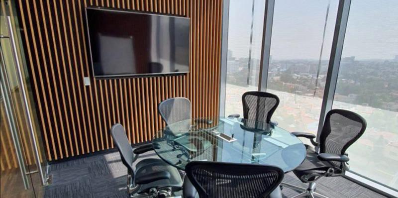 Oficina En Renta En Centro De Negocios En Paseo Interlomas Para 2 Personas (m2o1