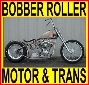 Image Is Loading 100 034 Motor Amp Transmission Rigid Bobber Chopper