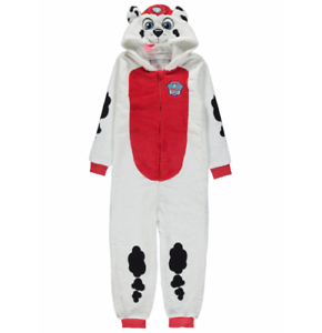 Paw Patrol Warm Hooded Pyjamas Dress Up Costume 2-3 years