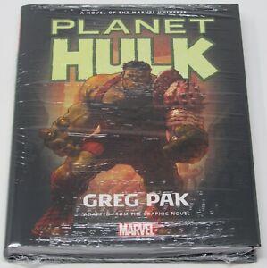 PLANET-HULK-Greg-Pak-NEW-Sealed-HC-Prose-Novel-Marvel-Comics-Incredible-Avengers