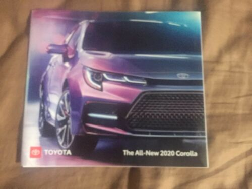 2020 All New Toyota Corolla USA Market Color Brochure Catalog Prospekt