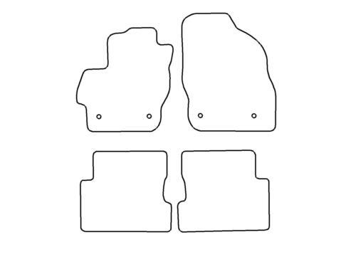 Fußmatten Mazda 3 BL Bj.2008-2013 höchste Qualität Velours Matten Autoteppiche