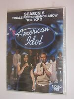 American Idol - Season 6 Finale Performance Show: The Top 2 (dvd, 2008, 2-disks)