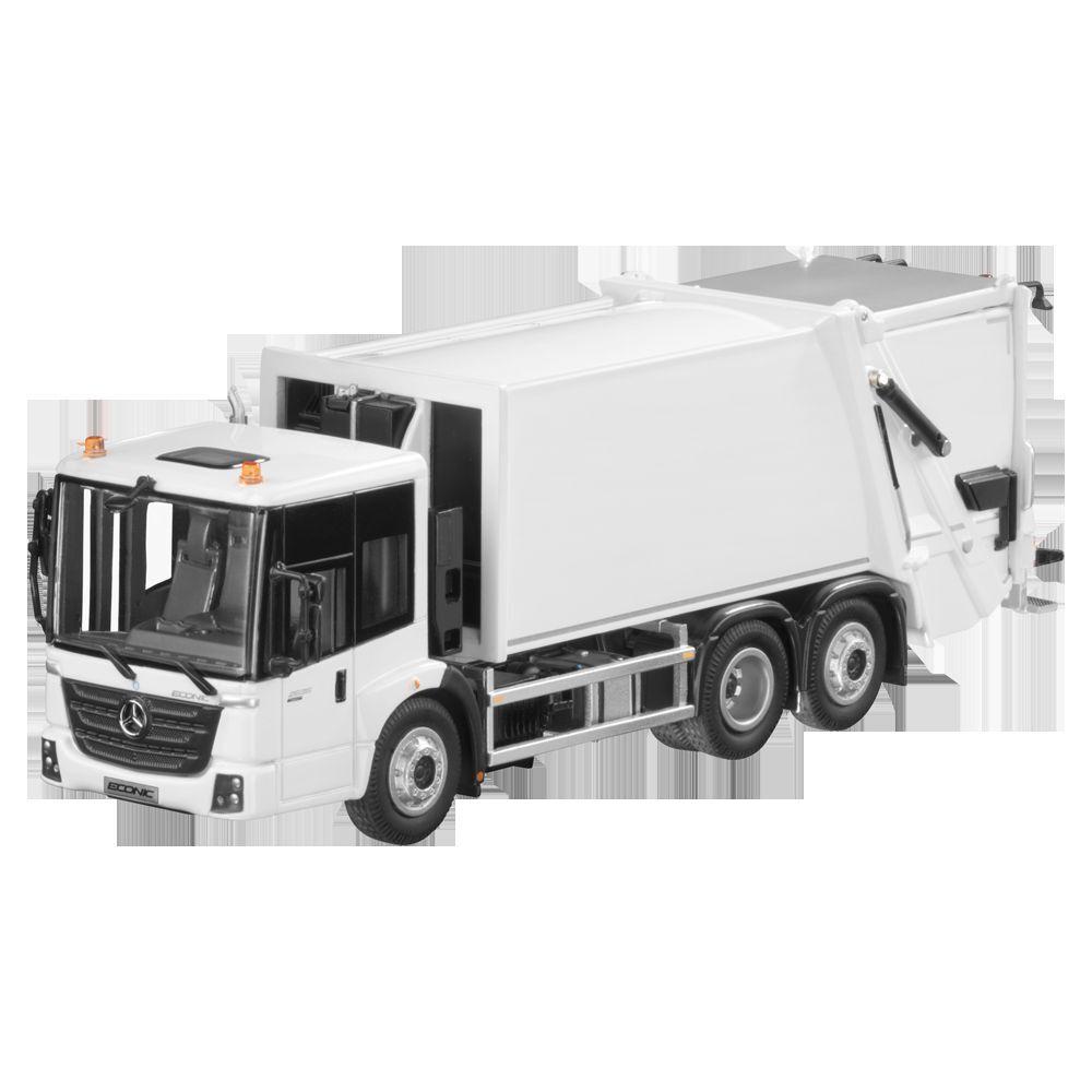Mercedes Benz Econic Waste Management Garbage Collection White 1 50 Nip