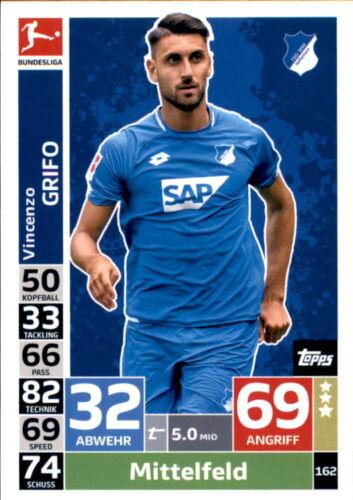 Topps Match Attax 18//19-162-Vincenzo Grifo