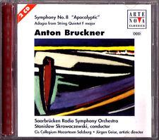 Stanislaw SKROWACZEWSKI: BRUCKNER Sinfonie Nr.8 Saabrücken Radio Symphony 2CD