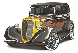 Hot Rod 2 Ideal Birthday Gift Or Present Men/'s T-Shirt