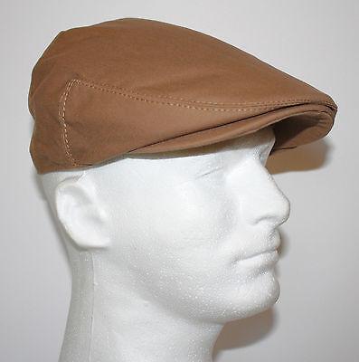 100% COTTON CANVAS MEN IVY CAP GATSBY NEWSBOY TRUCKER GOLF FLAT DRIVER HAT G37