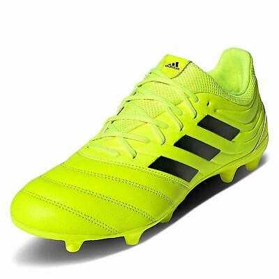 Adidas Scarpe Calcio Football Copa 19.3 FG Vera Pelle Giallo Firm Ground FG