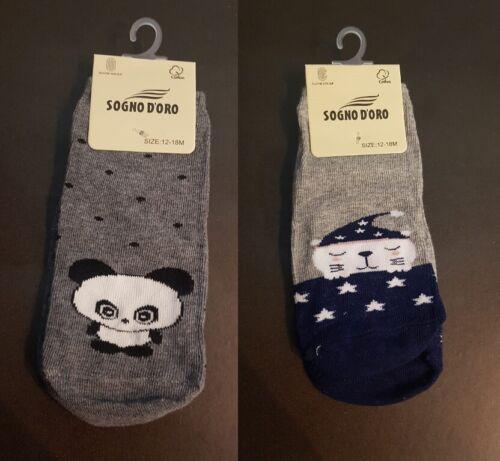 6 paia calze calzini antiscivolo bimbo neonato ragazzo