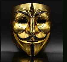 Halloween Horror mask masquerade mask hacker adult male ghost dance Vendetta V w
