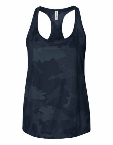 Damen Tank-Top Trägershirt Sport Shirt Camouflage Racerback  XS S M L XL XXL 3XL