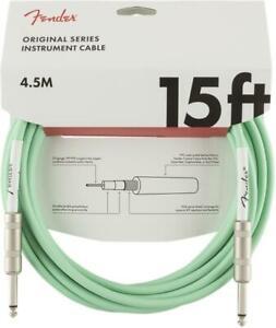 Fender-Original-Series-15ft-Jack-Jack-Instrument-Guitar-Cable-Surf-Green