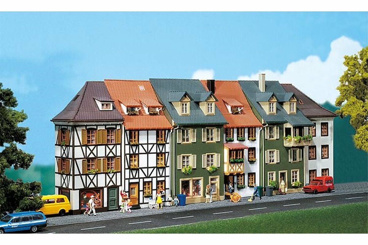 Faller 130430 HO 1 87 6 Maisons en relief - 6 Relief houses