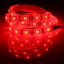Moto styling 4pcs Red 30cm 15SMD LED Waterproof Flexible Strip Light For Suzuki