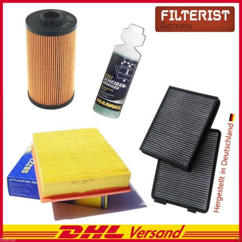 Luft- Ölfilter für BMW 5er E39 535i 540i Geschenk Inspektionspaket Aktivkohle