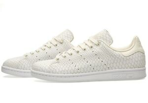 Details about ADIDAS ORIGINALS STAN SMITH SNAKE WOMENS TRAINERS WHITE BEIGE  UK SIZE 7 - 9.5