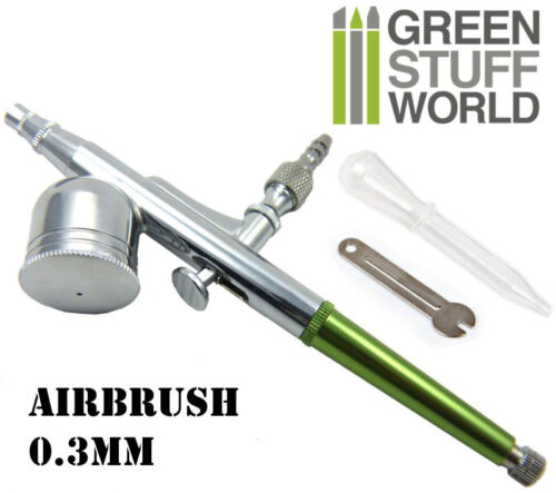 modelling model color Dual-action GSW Airbrush 0.3mm brush Painting Tools