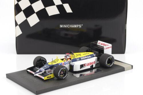 Nelson Piquet Williams Honda FW11 #6 Formel 1 1986 1:18 Minichamps
