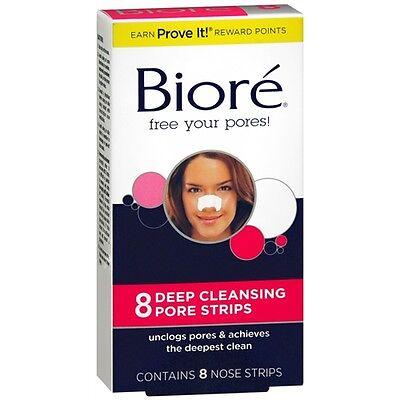 Biore Deep Cleansing Pore Strips Original 8 each
