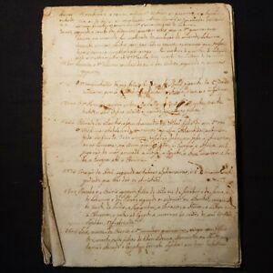 18th-Century-MANUSCRIPT-Hand-Written-PORTUGUESE-Account-OF-ALL-WARS-War-Rare