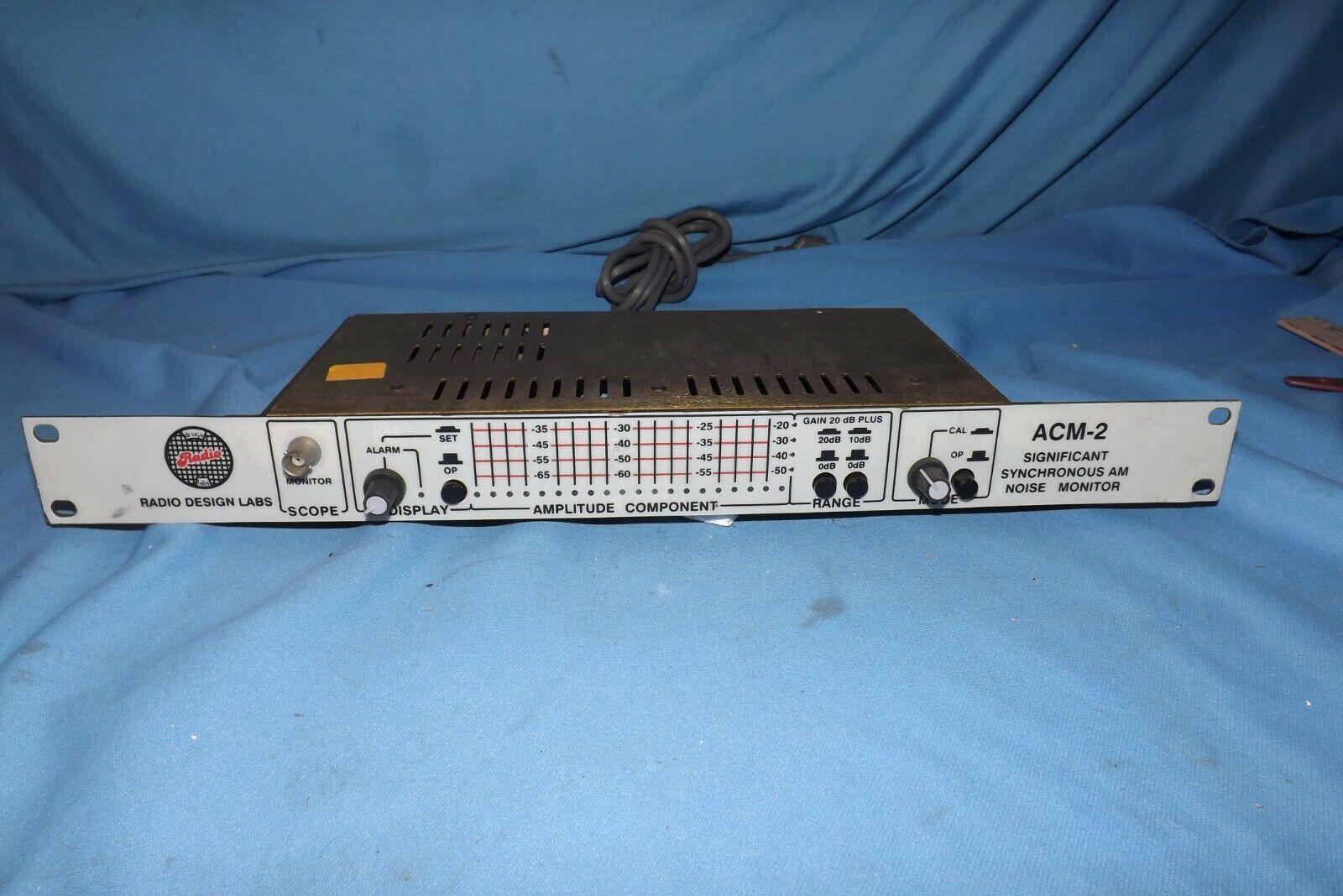 Radio Design ACM-2 AM Noise Monitor