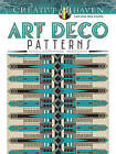 Creative Haven Art Deco Patterns Coloring Book by William Rowe (Paperback, 2016)