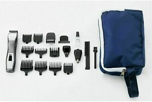 Wahl-Hair-Clippers-Shaver-Cutting-Kit-Power-Trimmer-14-in-1-Chromium-Multi-Groom