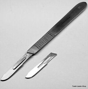 Skalpellgriff-Nr-3-10-Skalpell-klingen-Nr-10-Halter-Scalpel-Klingen-Messer
