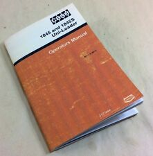J I Case 1845 And 1845s Uni Loader Skid Steer Operators Owners Manual 9 4915