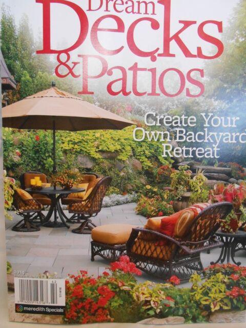 Dream Decks and Patios Magazine New 2014 Spring Edition. Fantastic ideas!
