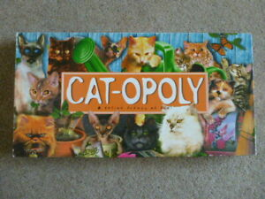 CAT-OPOLY-LATE-FOR-THE-SKY-FREE-UK-POSTAGE