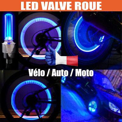 LED Valve Roue Velo Moto Voiture Auto éclairage Jante Lumière tourne VTT Néon