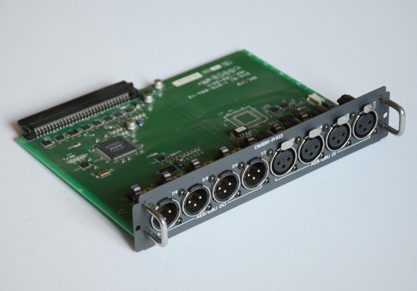 Sony DMBK-R103 AES EBU expansion card