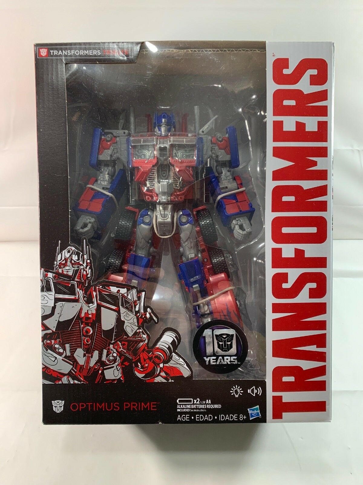 Transformers Amazon exclusive Film 10th anv.  Leader hommage Optimus Prime Neuf  promotions promotionnelles