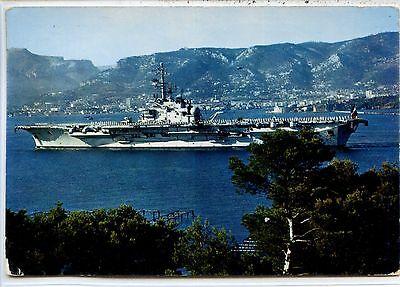 "Cp Marine - Entrée Majestueuse Du ""foch"" En Rade De Toulon Ii Groot Assortiment"