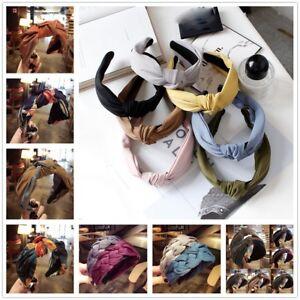 Fashion-Bow-Knot-Hair-band-Women-Hoop-Simple-Sweet-Girl-Hair-Headband-Accessory