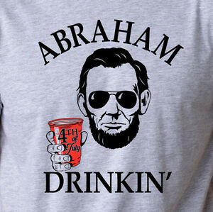 6d25219ecd29b ABRAHAM DRINKIN funny beer pong red solo cup drinking college ...