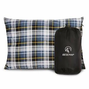 Outdoor Camping Pillow Lightweight Travel Washable Pillow Removable Cover