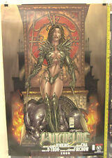 Witchblade Top Cow 2000 Poster Kea Cha D-Tron 36 x 24 T