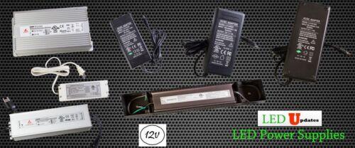 12V UL ETL LED Light Power Supply Driver 3A 4.16A 5A 6A 8A 10A 12.5A Wholesale